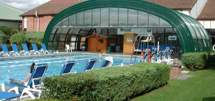 Commercial swimming pool enclosures for leisure centre - Outdoor swimming pool enclosures uk ...