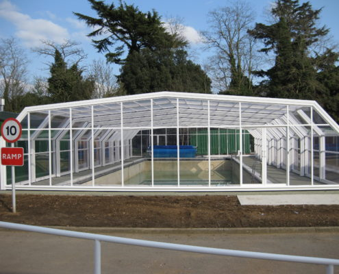 Colchester Girls School Pool Enclosure by Swimex 01