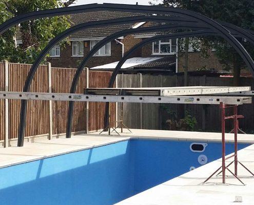 Galaxy Fixed Pool Enclosure Installation Mr Rogers 01