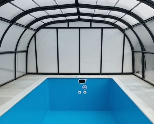 Galaxy Fixed Pool Enclosure Installation Mr Rogers 03