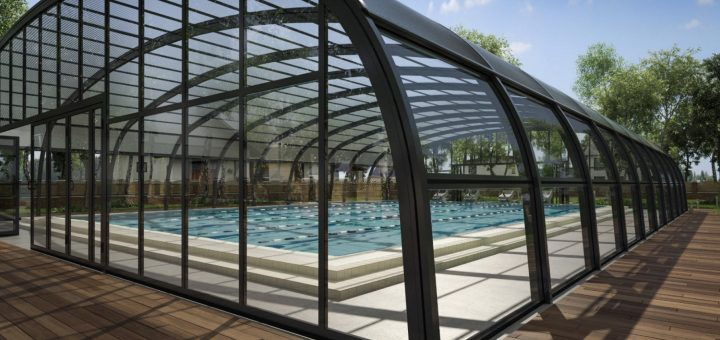 Fixed Arched Residential Swimming Pool Enclosures | Swimex ...