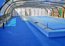 Galaxy High Fixed Pool Enclosure For School