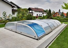 Galaxy Low Telescopic Pool Enclosure 01