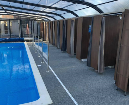 Galaxy Pool Enclosure Changing Rooms For Swimming School 02