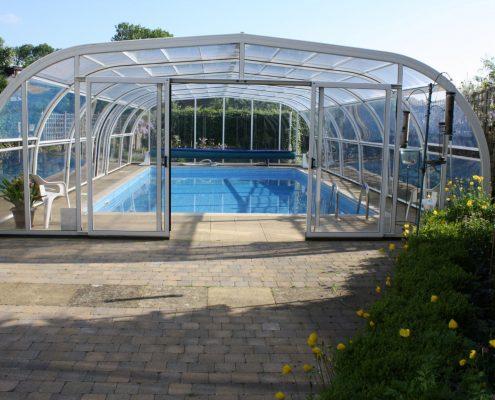 Galaxy Pool Enclosure For JH North Lancashire 01