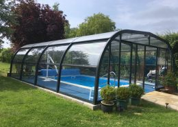 Galaxy Pool Enclosure Installation Freestanding June 2018 01