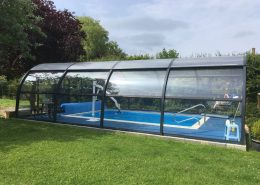 Galaxy Pool Enclosure Installation Freestanding June 2018 03