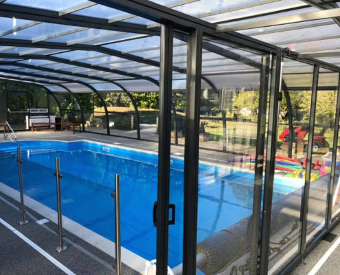 Galaxy Pool Enclosure Interior For Swimming School