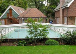Low 5 Angle Telecsopic Pool Enclosure White 02
