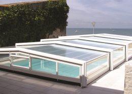 Low Profile Telescopic Pool Enclosure 01