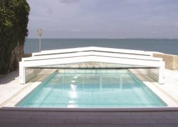 Low Profile Telescopic Pool Enclosure 02