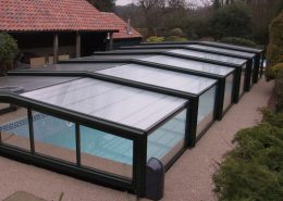 Low Profile Telescopic Pool Enclosure 04