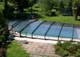 Low Profile Telescopic Pool Enclosure 05