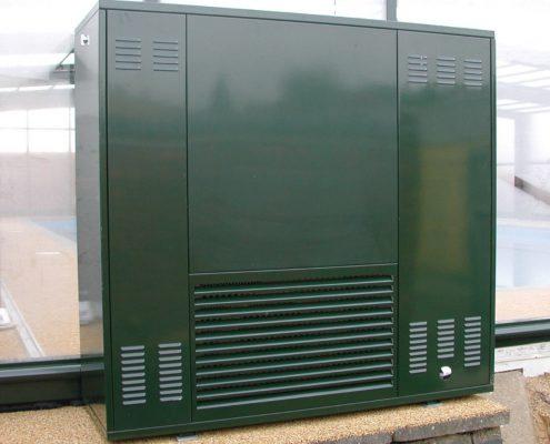 Pool Enclosure Air Conditioning Unit