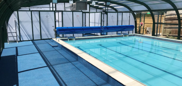 Rayleigh School Pool Enclosure with changing rooms by Swimex 01