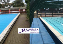 Rayleigh School Swimming Pool Before and After Image