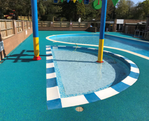 Rubber Flooring Fitted By Swimex At Languard Holiday Park Swimming Pool 02