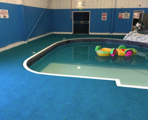 Rubber Flooring Fitted By Swimex At Lower Hyde Holiday Park Swimming Pool 02