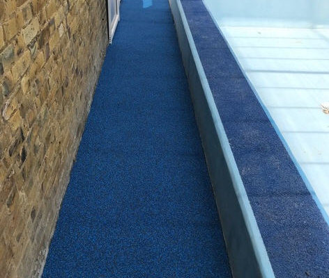 Rubber Flooring Fitted By Swimex At Midfield School Swimming Pool