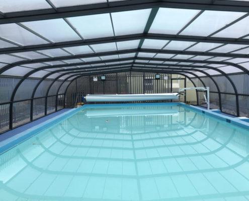 Waterman School Pool Enclosure by Swimex